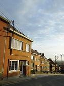 Casas belgas, tubize, Bélgica — Fotografia Stock