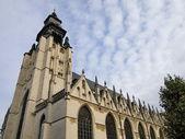 ブリュッセル, ベルギーのノートルダム寺院ドゥ ラ シャペルの教会 — ストック写真