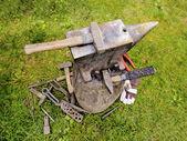 Blacksmith's Equipment — Stockfoto