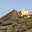 Volcan de la Corona, Lanzarote, Canary Islands, Spain — Stock Photo