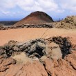 Timanfaya National Park, Lanzarote, Canary Islands — Stock Photo