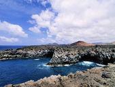 Los hervideros, lanzarote, canarische eilanden, spanje — Stockfoto