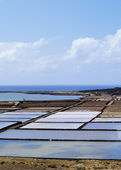Salinas de Janubio, Lanzarote, Canary Islands, Spain — Stock Photo