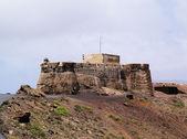 Saint barbara castle yakınındaki teguise, lanzarote — Stok fotoğraf