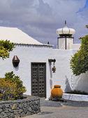 Cesar marique foundation, tahiche, lanzarote, canarische eilanden — Stockfoto