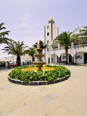 City Hall in San Bartolome, Lanzarote, Canary Islands, Spain — Stock Photo