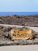 Los Hervideros, Lanzarote, Canary Islands, Spain — Stock Photo