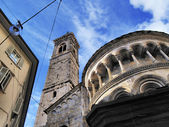Cathedral in Bergamo, Lombardy, Italy — Stock Photo