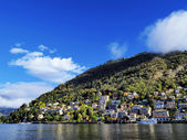 Como lago, lombardia, italia — Foto de Stock
