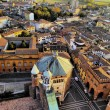 Cremona, view from cathedral tower, Lombardy, Italy — Stock Photo