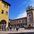 Piazza Sordello, Mantua, Lombardy, Italy — Stock Photo