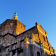 Broletto Cathedral in Pavia, Lombardy, Italy - Foto Stock