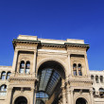 Galleria Vittorio Emanuele II, Milan, Lombardy, Italy — Stock Photo #14883175