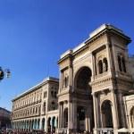 Galleria Vittorio Emanuele II, Milan, Lombardy, Italy — Stock Photo #14883207