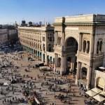Galleria Vittorio Emanuele II, Milan, Lombardy, Italy — Stock Photo #14883229