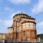 Convent of Santa Maria della Grazie, Milan, Lombardy, Italy — Stock Photo #14883495