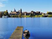 Mantua Cityscape, Lombardy, Italy — Stock Photo