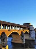 Ponte Coperto in Pavia, Lombardy, Italy — Stock Photo