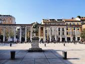 Colonne di San Lorenzo, Milan, Lombardy, Italy — Stock Photo