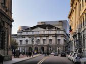 La Scala Opera House, Milan, Lombardy, Italy — Stock Photo