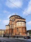 Convento de santa maria della grazie, Milão, Lombardia, Itália — Fotografia Stock