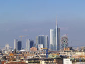 Milan Cityscape — Stock Photo