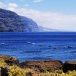 Los Gigantes(view from Punta Teno), Tenerife, Canary Islands, Spain — Stock Photo