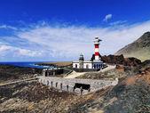 Lighthouse in Punta Teno, Tenerife, Canary Islands, Spain — Stock Photo