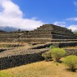 Pyramids in Guimar, Tenerife, Canary Islands, Spain — Foto de Stock