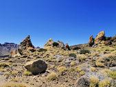 Teide National Park(Garcia Rocks), Tenerife, Canary Islands, Spain — Stock Photo