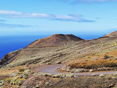 Paisaje volcánico, hierro, islas canarias — Foto de Stock