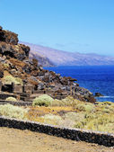 Volcanic Landscape, Hierro, Canary Islands — Stock Photo
