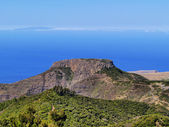 Fortaleza de Chipude, La Gomera, Canary Islands, Spain — Foto Stock