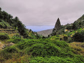 Hermigua, La Gomera, Canary Islands, Spain — ストック写真