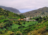 Hermigua, La Gomera, Canary Islands, Spain — Stock Photo