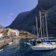 Vueltas, Valle Gran Rey, La Gomera, Canary Islands, Spain — Stock Photo