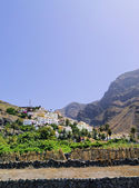 Valle Gran Rey, La Gomera, Canary Islands, Spain — Zdjęcie stockowe