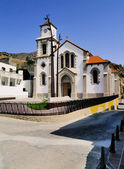 Church in Vallehermoso, La Gomera, Canary Islands, Spain — Stok fotoğraf