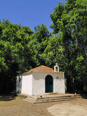 Chapel(Ermita de Lourdes), Garajonay National Park, La Gomera, Canary Islands — Zdjęcie stockowe