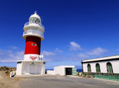 Lighthouse(Faro de San Cristobal) on Punta del Faro, La Gomera, Canary Islands — Foto Stock