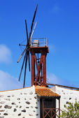 Windmill, La Gomera, Canary Islands, Spain — Stock Photo