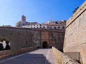 Portal de ses Taules, Ibiza Town, Balearic Islands, Spain — Stock Photo
