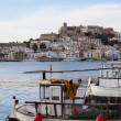 Harbor in Ibiza Town, Balearic Islands, Spain — Stock Photo