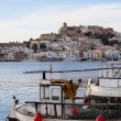 Harbor in Ibiza Town, Balearic Islands, Spain — Stock Photo #21863825