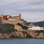 Ibiza Town Walls, Balearic Islands, Spain — Stock Photo #21866959