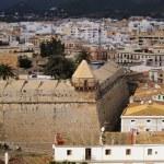 Ibiza Town Walls, Balearic Islands, Spain — Stock Photo #21867093