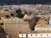 Ibiza Town Walls, Balearic Islands, Spain — Stock Photo