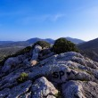 Ibiza Mountains, Balearic Islands, Spain - Stock Photo