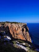 Cliffs of La Mola, Formentera, Balearic Islands, Spain — Stock Photo