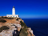 Lighthouse far de la Mola, Formentera, Balearic Islands, Spain — Stock Photo
